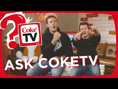 izzi und CrispyRob beantworten eure Fragen | #AskCokeTV