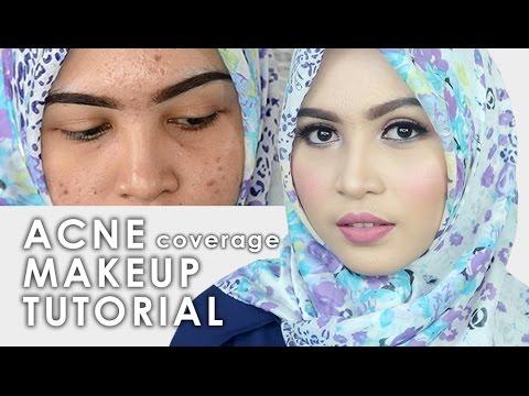 Cara Makeup Menutupi Jerawat - Acne Coverage Drugstore Makeup Tutorial