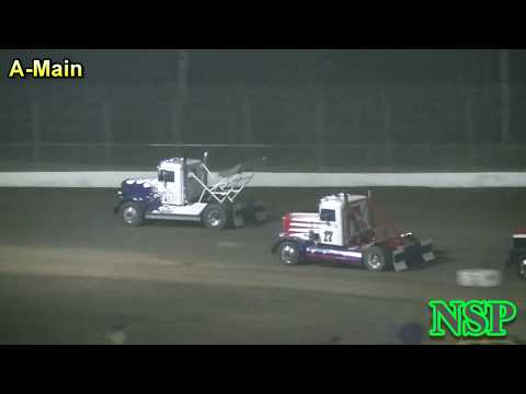 August 18, 2018 Rolling Thunder Big Rigs A-Main Grays Harbor Raceway