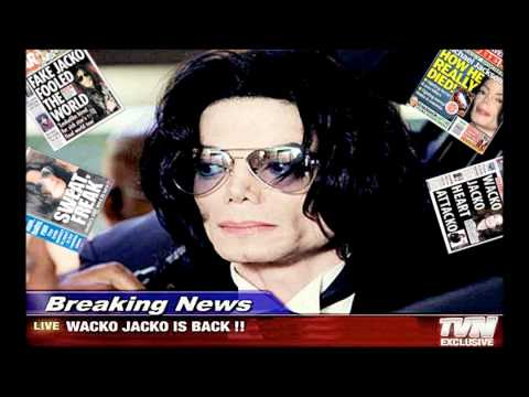 Michael Jackson Breaking News Karaoke (With Back Vocals)