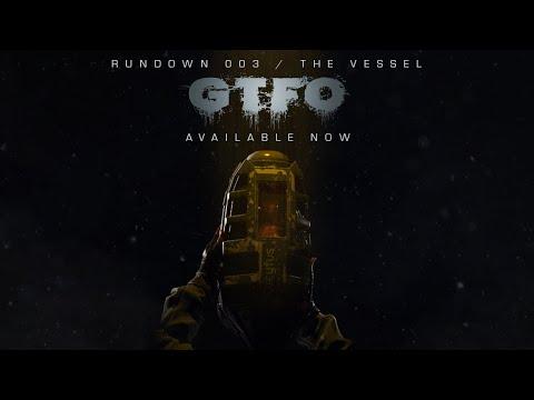 GTFO Rundown 003 / The Vessel Gameplay Trailer (Short)