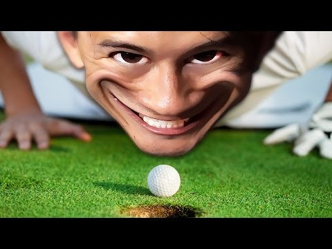 MARKIPLIER GOT GOOD?! | Golf It MEGA Episode