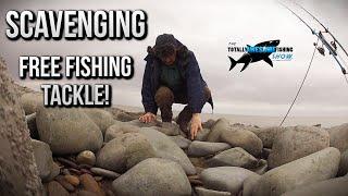 Scavenging FREE Fishing tackle on the Beach! | TAFishing