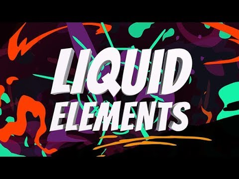 FREE DOWNLOAD |Liquid elements pack| for After Effects - AEJuice Review - After Effects Tutorial