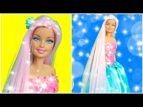 Sparkle Hairstyle For Barbie, Cool Barbie Clothes and DIY Barbie Crafts and Doll Shoes thumbnail