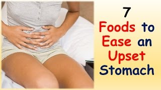 Foods Ease Upset Stomach