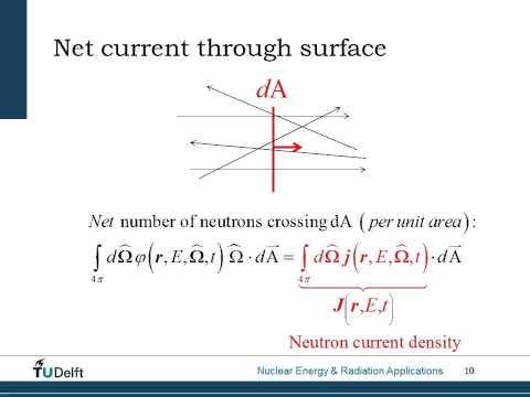 Neutron Transport Equation