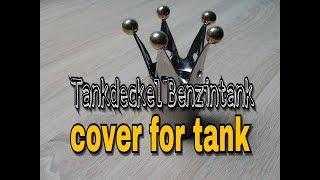 Tankdeckel Benzintank HARLEY Chopper Bobber Cafe Racer cover for tank #1