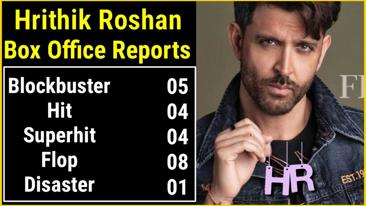 Download Hrithik Roshan Box Office Reports | Hit, Flop, Blockbuster, Average Movies List of Hrithik Roshan |