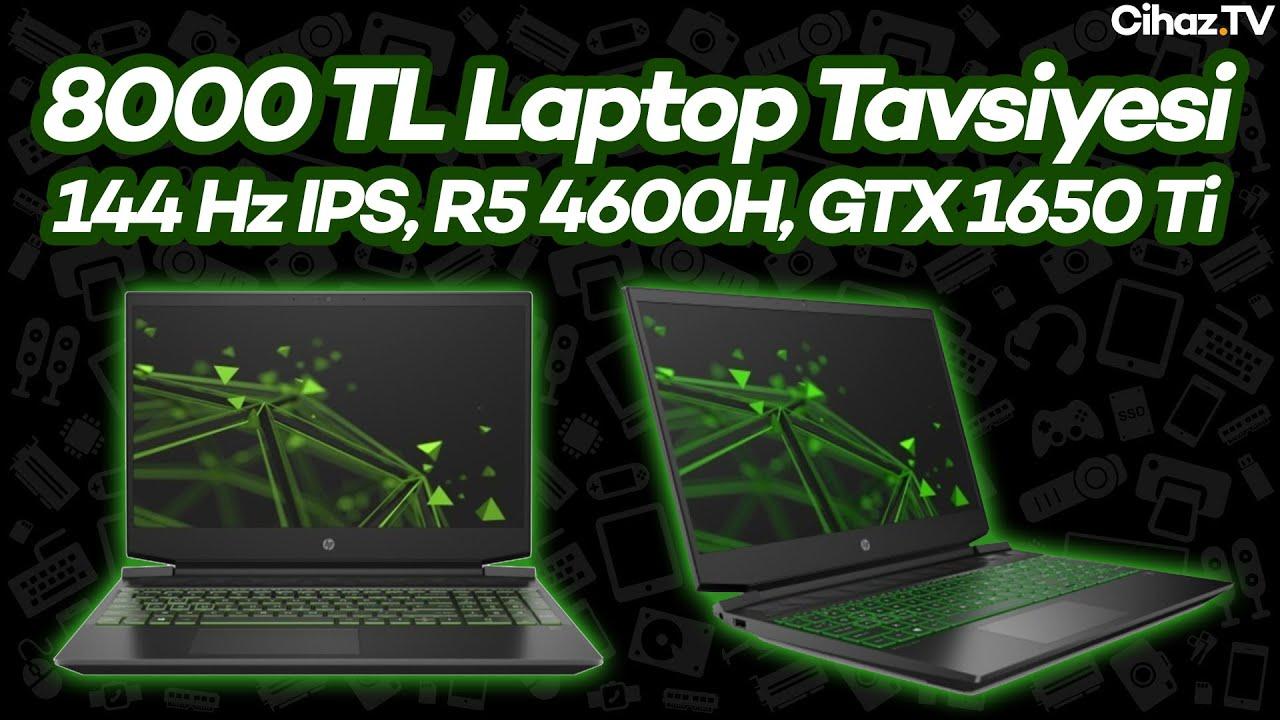 8000 TL Laptop Tavsiyesi - HP Gaming Pavilion 15-EC1019NT 24D52EA - 19 Ekim 2020