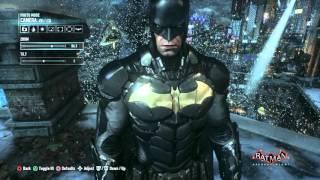 Batman: Arkham Knight Batsuit V.805/ Gotham Savior Skin + Rocksteady Themed Batmobile Gameplay