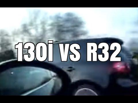 BMW 130i vs VW R32