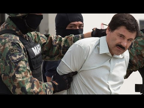 El Chapo Re-Arrested In Mexico