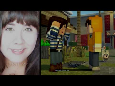The Voices of Minecraft Story Mode Season 2 Voice Actors and Characters in Episode 1