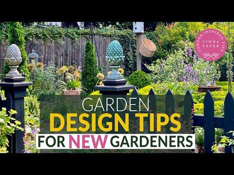 🍃🌳🍃Garden Design Tips for New Gardeners // Linda Vater