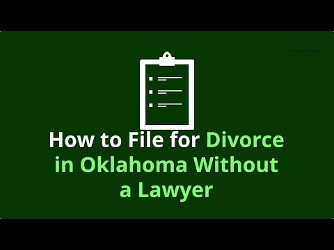 How to file for divorce in oklahoma without a lawyer step by step the most comprehensive summary of filing for divorce without a lawyer in oklahoma solutioingenieria Choice Image