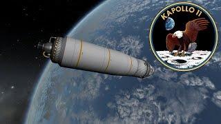 Kapollo 11 - A KSP tribute to the original Apollo 11 Mission [part 2 of 4] thumbnail