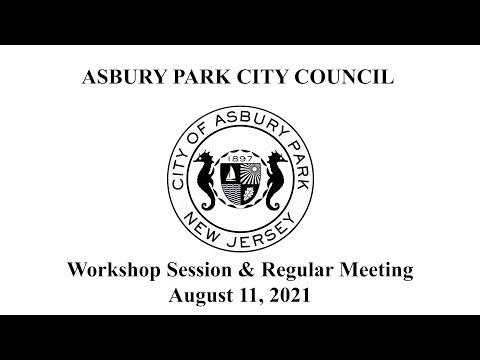 Asbury Park City Council Meeting - August 11, 2021