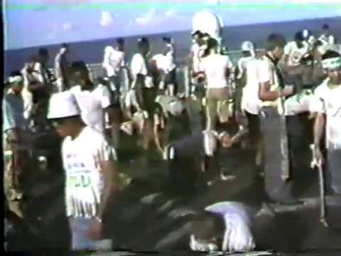 USS Hepburn Shellback Initiation 1987