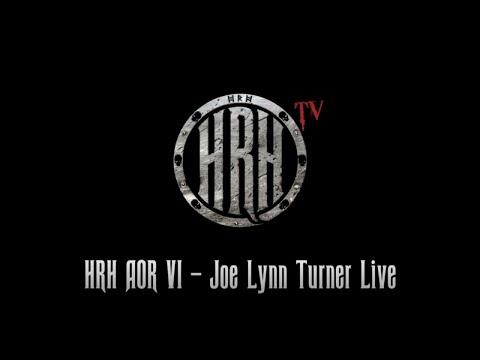HRH TV - Joe Lynn Turner Live @ HRH AOR 6 2018