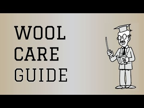 Fabric Care Guide : Wool | How to care for Wool Clothing