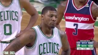 Boston Celtics Defensive Highlights vs Washington Wizards (03/20/2017)