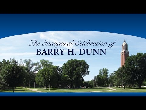 Inauguration of Barry H. Dunn as 20th President of South Dakota State University