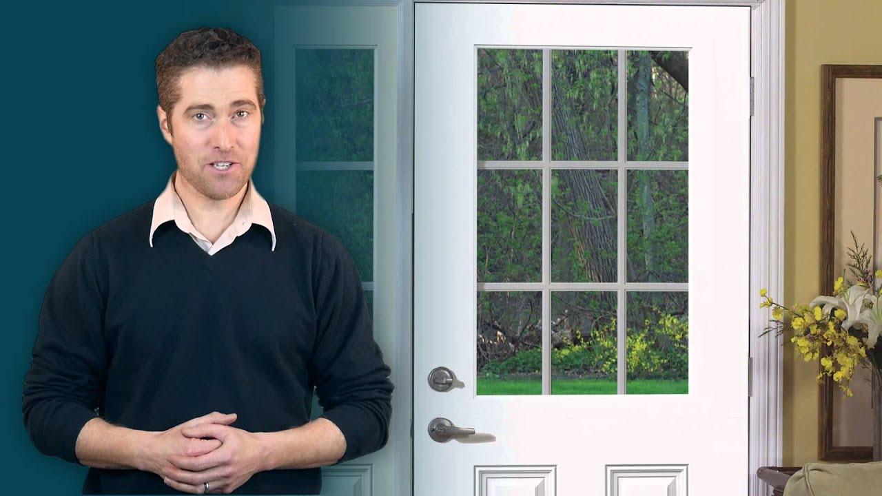 Jeld Wen Design Pro Smooth Pro Fiberglass Doors Youtube