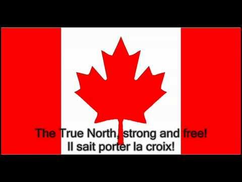 O Canada - Instrumental - English and French Lyrics.mp4