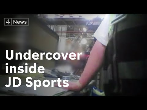 'I've sacked people for sitting down': Undercover inside JD Sports
