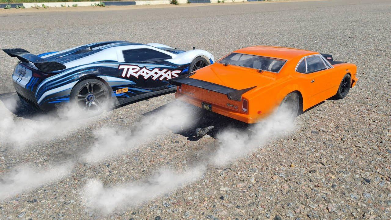 ДРАГСТЕР после тюнинга порвал Traxxas XO-1 ... почти ... RC fast cars