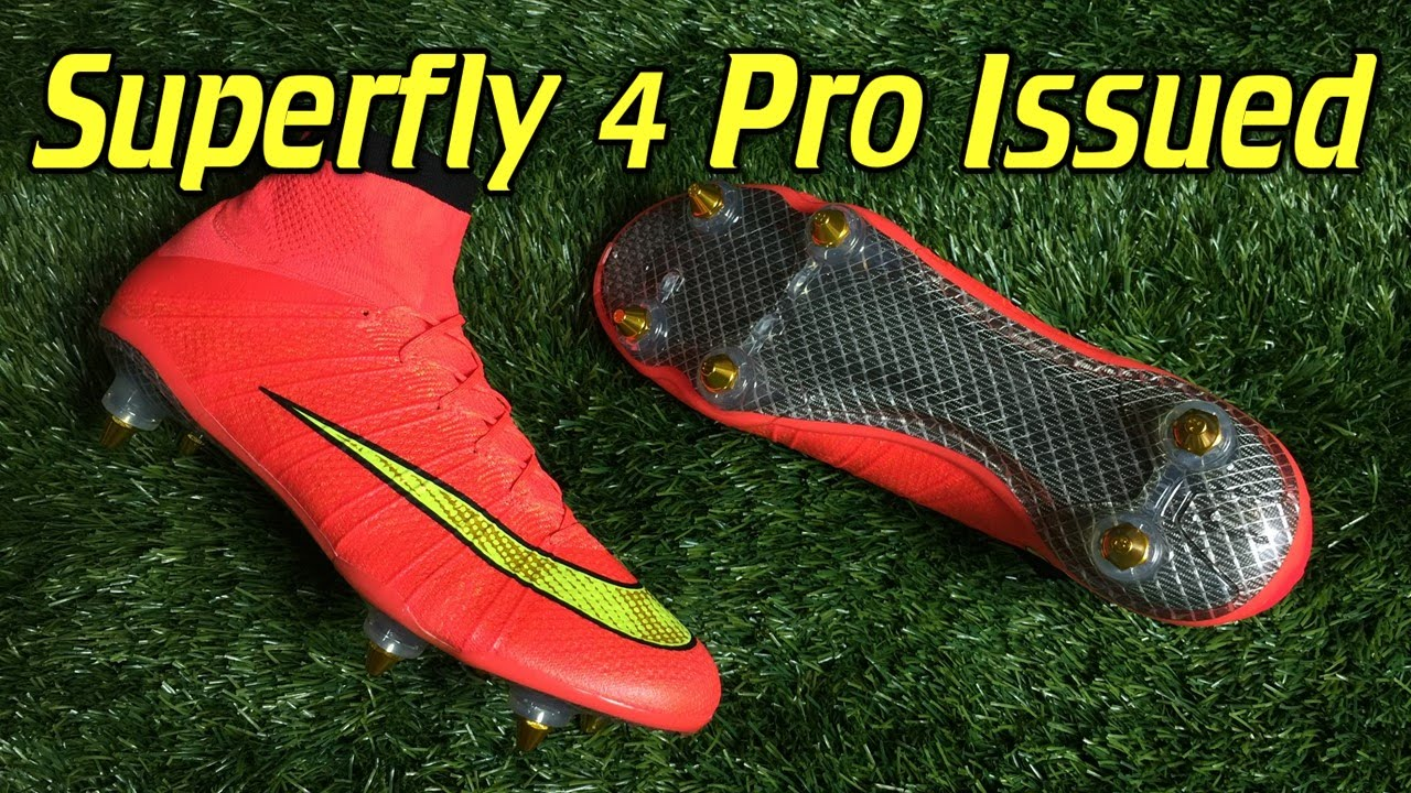 new product d81f9 b03de Custom Pro Issued Nike Mercurial Superfly 4 - Review + On Feet
