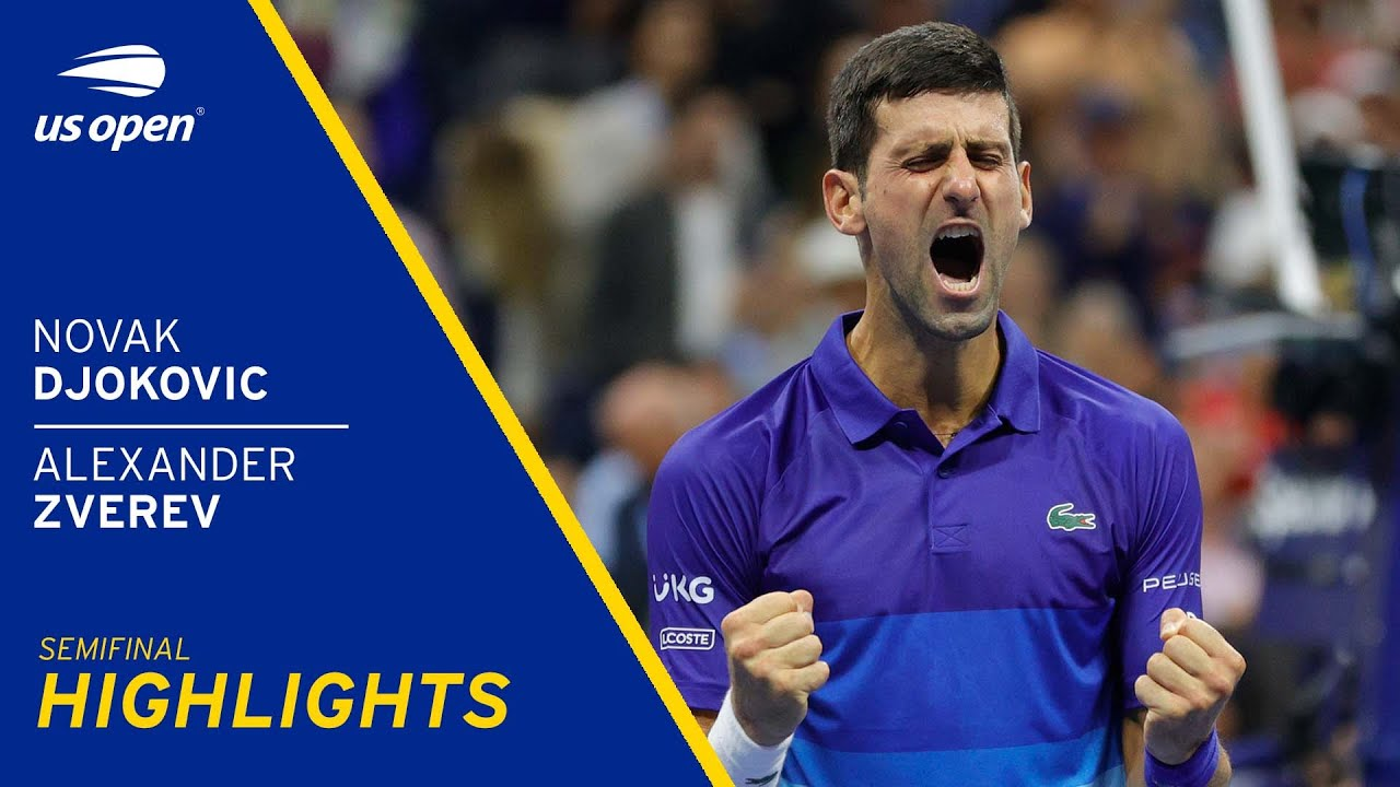 US Open 2021 - Novak Djokovic is just one win away from tennis ...