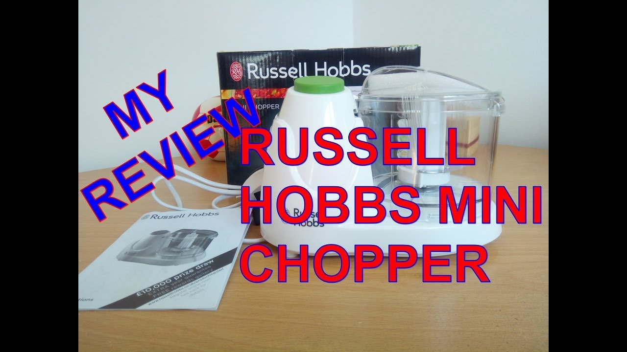 Is the Russell hobbs mini chopper any good? My Review