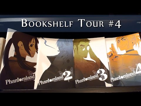 Bookshelf Tour | Part 4: High Fantasy & Manga
