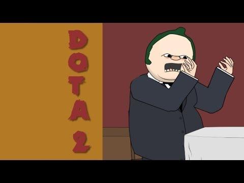 видео: Герои Доты в РЕСТОРАНЕ