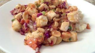 Chicken Stir-fry With Peanut Butter Sauce & Ginger : Chicken Stir-fry Recipes
