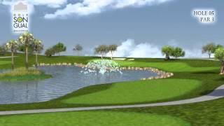 Hole 5 Golf Son Gual Mallorca