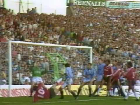 [89/90] Man City v Man Utd, Sep 23rd 1989 [Highlights]