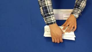 How to fold and return your Vote-by-Mail Ballot
