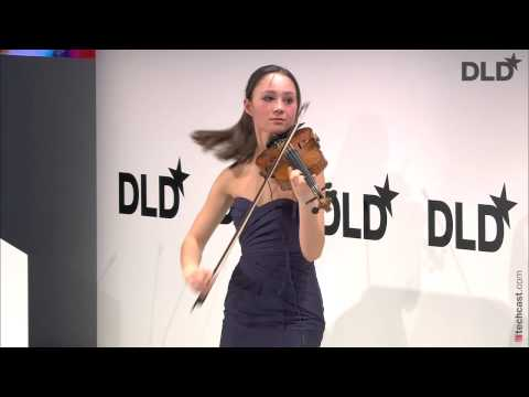 Gabi playing at DLD Conference - München, Germany.