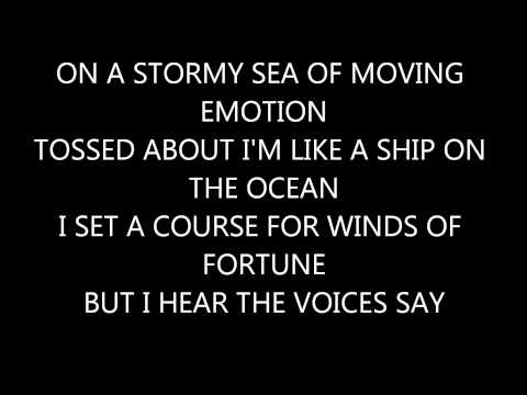 Carry  My Wayward S Kansas Lyrics