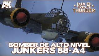 War Thunder: Ju-88 Bombardeiro de Alto Nivel