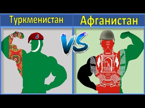 Туркменистан VS Афганистан Сравнение Армии и Вооруженные силы