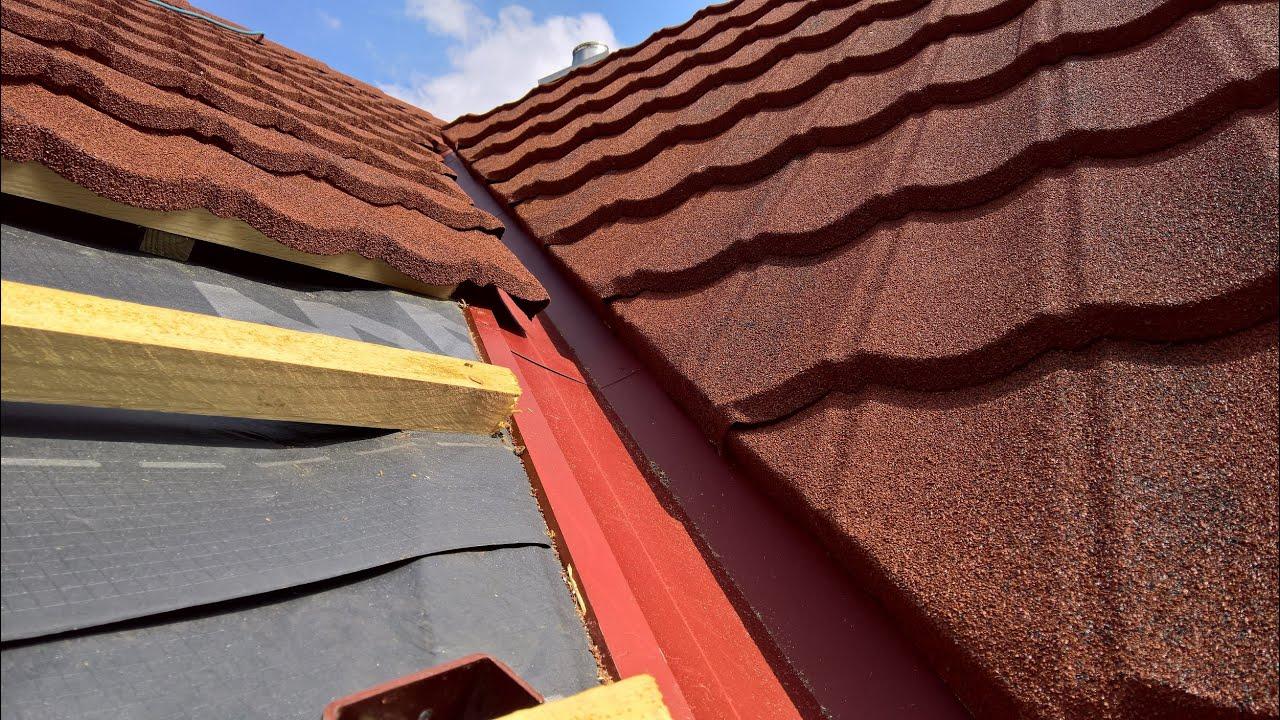 Decra Dach Montageanleitung für Evertile Metalldach Blechdach
