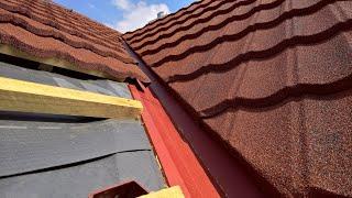 Montageanleitung Decra-Icopal (Braas), Isola-Powertekk-Dachplatten. Metalldach Blechdach Dachbleche