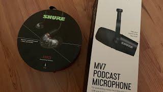 [ 광고 ] 슈어 브랜드 AONIC 5 이어폰과 MV7…