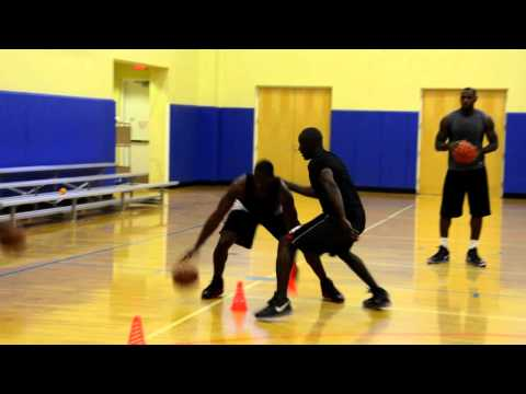 Wade & Lebron Workout in Miami (WARNING)