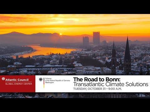 The Road to Bonn: Transatlantic Climate Solutions