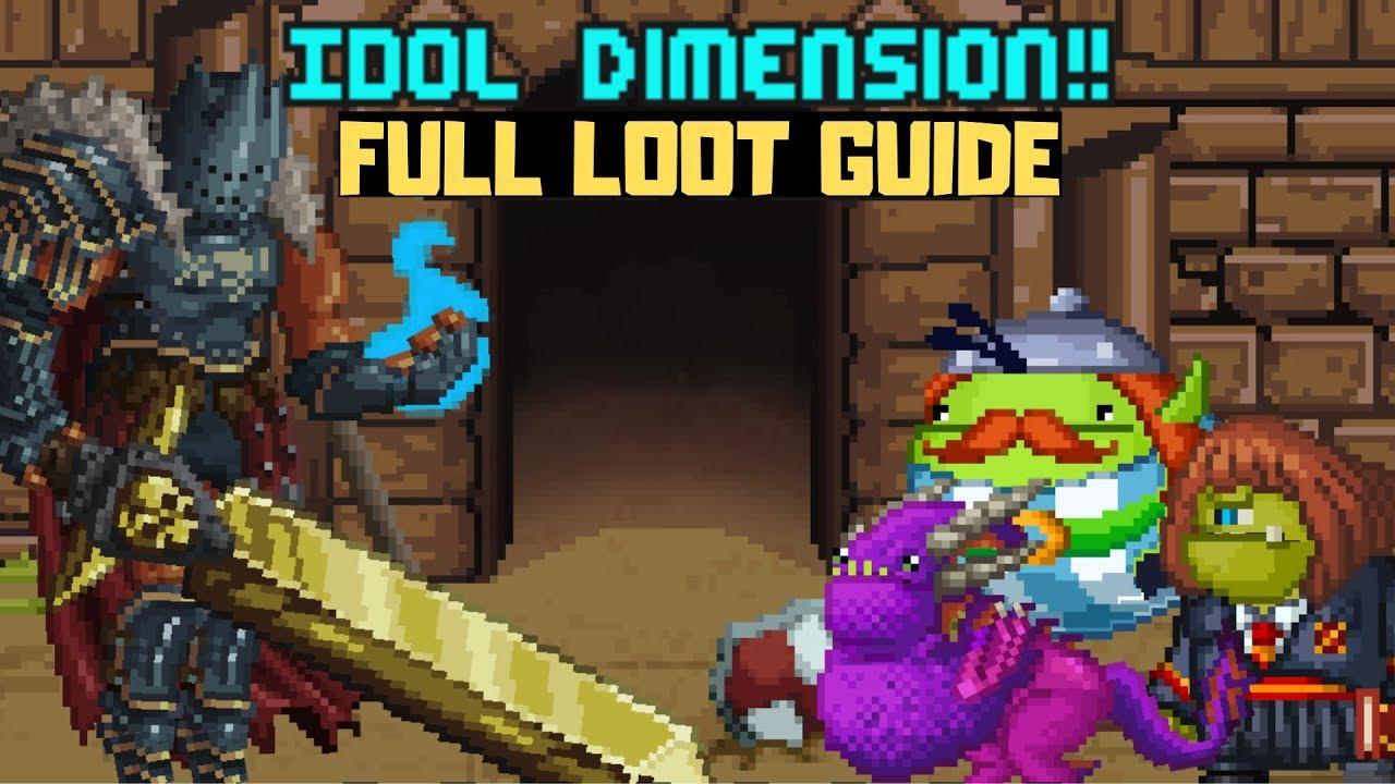 Bit Heroes Guide >> Bit Heroes Idol Expedition Full Loot Guide